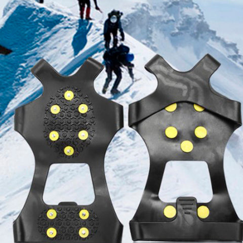 Anti-Skid Gripper Crampons Overshoes for Snow & Ice 3