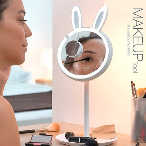 Bunny Style LED Makeup Mirror 3