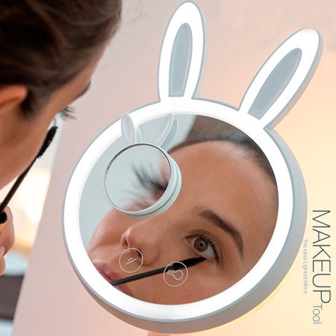 Bunny Style LED Makeup Mirror 5