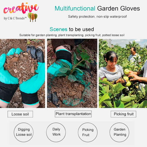 Claw Gloves for Quick and Easy Gardening 4