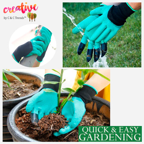 Claw Gloves for Quick and Easy Gardening 3
