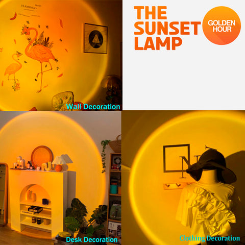 Cool Visual Sunset Projection Lamp 12