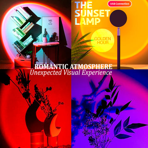 Cool Visual Sunset Projection Lamp 13