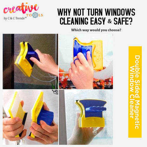 Double-sided Magnetic Glass Cleaner 5
