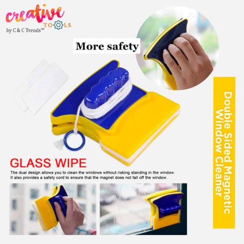 Double-sided Magnetic Glass Cleaner 7