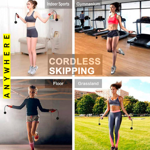 Fitness Cordless Skipping Rope 3
