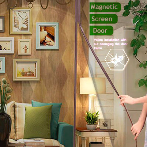 Magnetic Fastening Anti Bug Fly Door Curtains 3