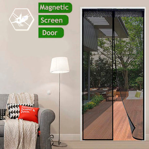Magnetic Fastening Anti Bug Fly Door Curtains 9