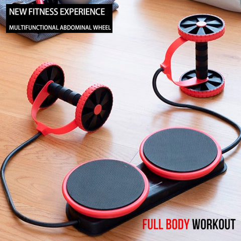 Multifunctional Fitness Roller with Twisting Disc 2