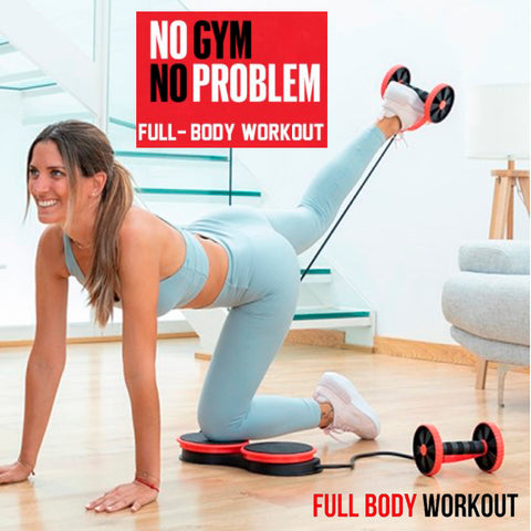 Multifunctional Fitness Roller with Twisting Disc 5