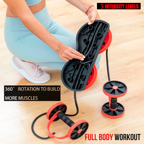 Multifunctional Fitness Roller with Twisting Disc 7