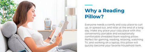Reading & Watching TV body-conforming Pillow 13