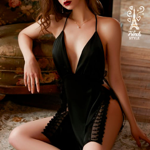 Satin Lace French Tower Nightgown 2