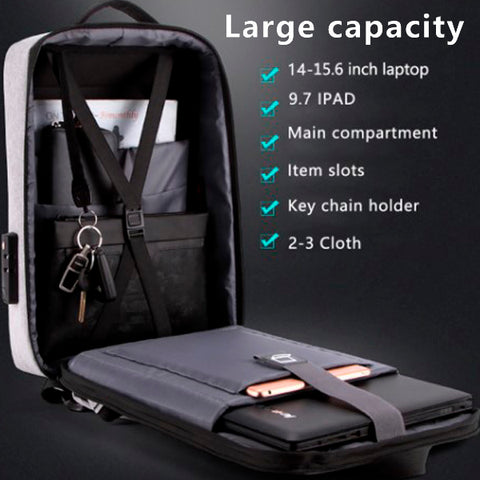 Stereoscopic 3D Anti-theft Casual Backpack 11