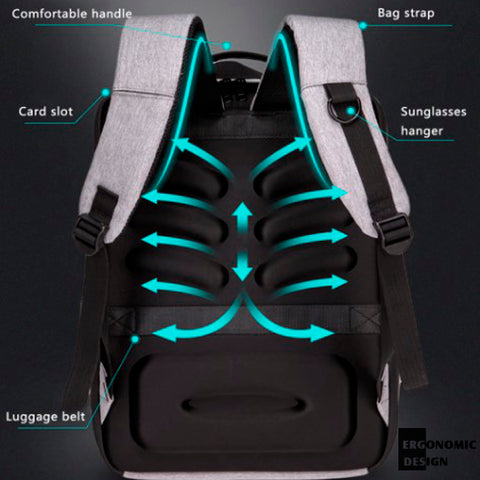 Stereoscopic 3D Anti-theft Casual Backpack 12