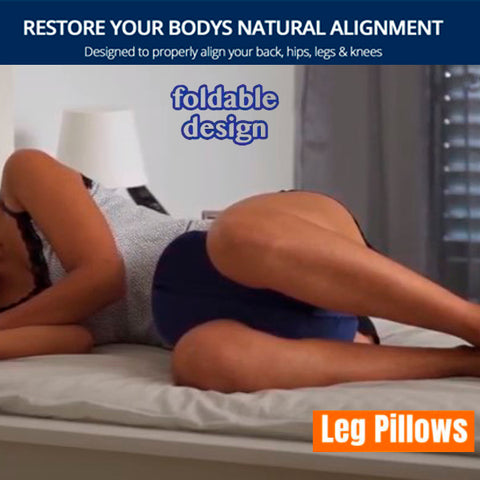 Therapeutic Leg Pillow for Side Sleeper 14