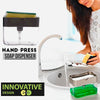 2-in-1 Creative Hand-Press Soap Dispenser 3