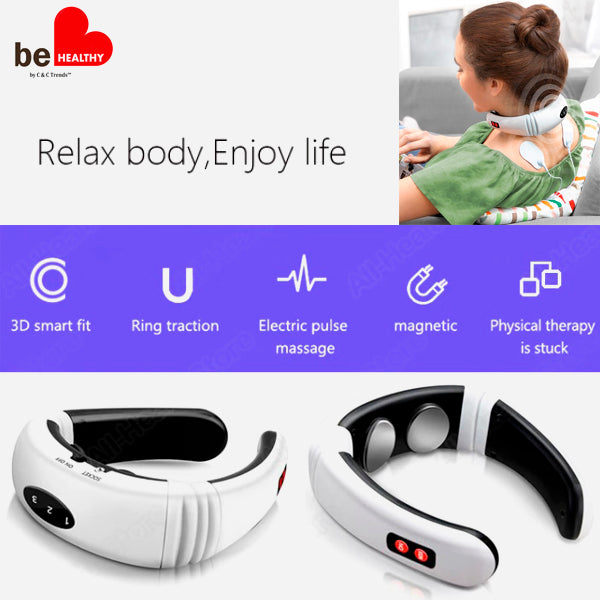3D Smart Fit Neck Massager 4