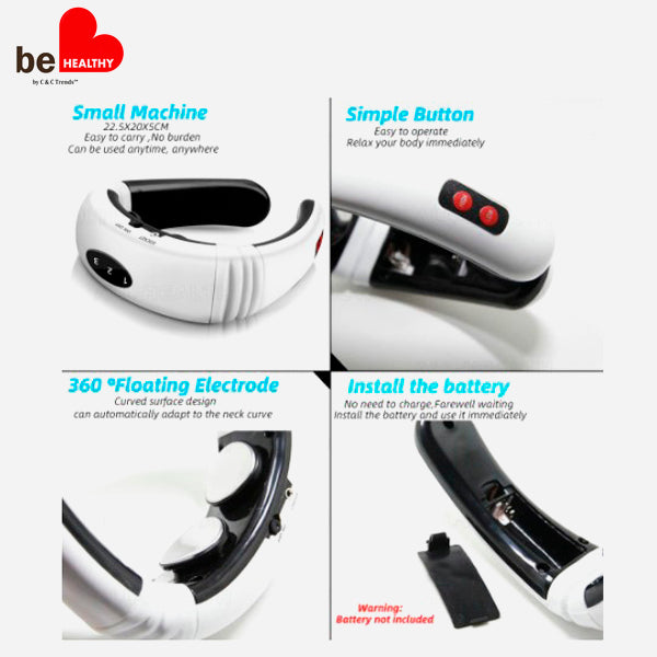 3D Smart Fit Neck Massager 5