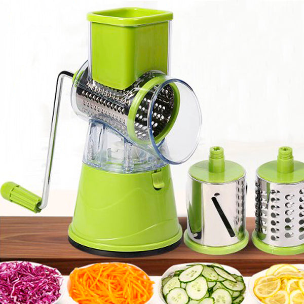 3 in 1 Vegetable Cutter: Slicer, Grater and Chopper
