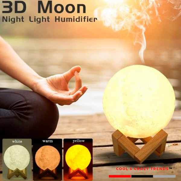 3d Moon Lamp Aromatherapy Diffuser
