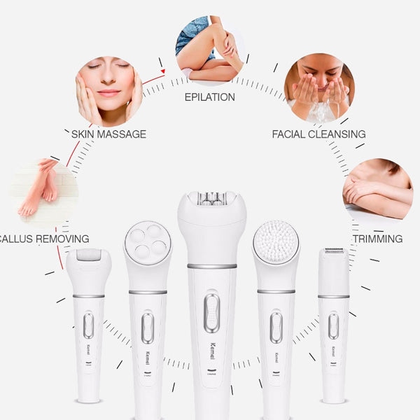 Professional 5 In 1 Lady Beauty Set