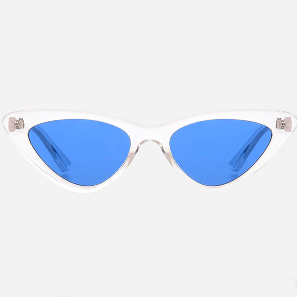 90s Style Mirror Cat Eye Sunglasses
