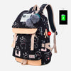 Anime USB Backpack For Laptop