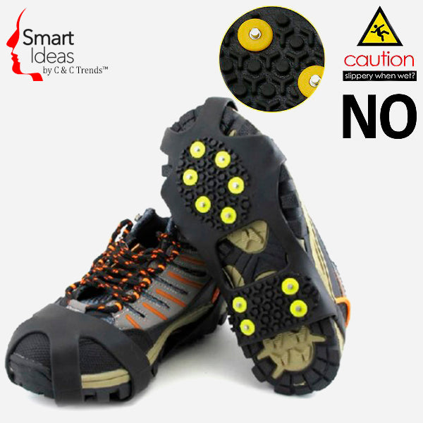 Anti-Skid Gripper Crampons Overshoes for Snow & Ice 1