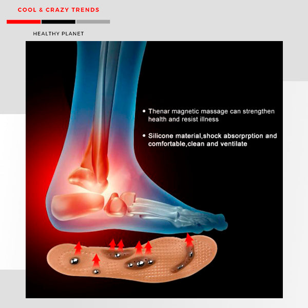 Anti-fatigue Magnetic Acupoint Foot Insole