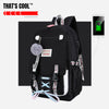 Anti-theft USB Kawaii Teenager Backpack
