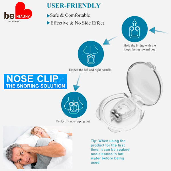 Anti Snore Magnetic Nose Clip 4