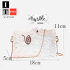Art Marble Design Clutch Purse 3
