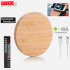Bamboo Wireless Charging Pad 3