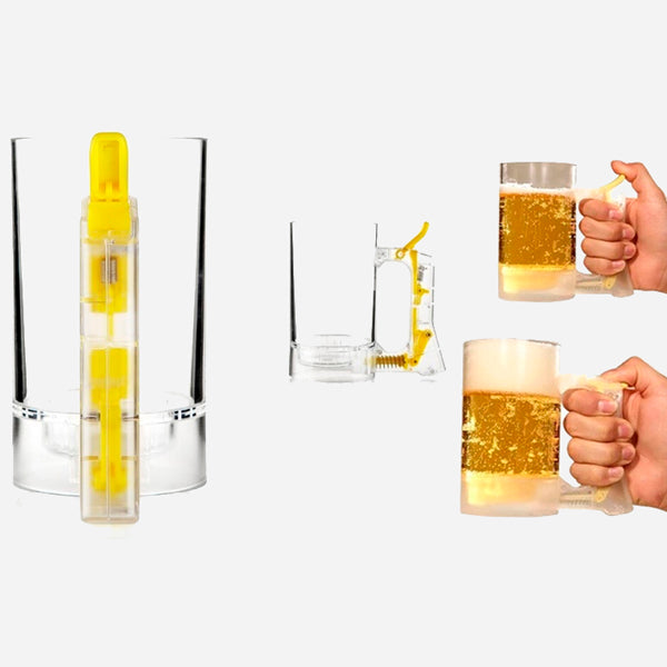 Crazy Beer Foaming Mug
