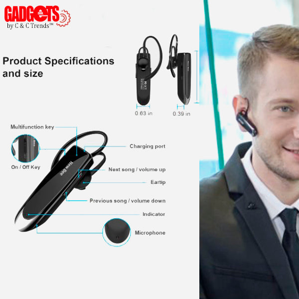 Bluetooth 5.0 Hands-free Wireless Earphone 9a