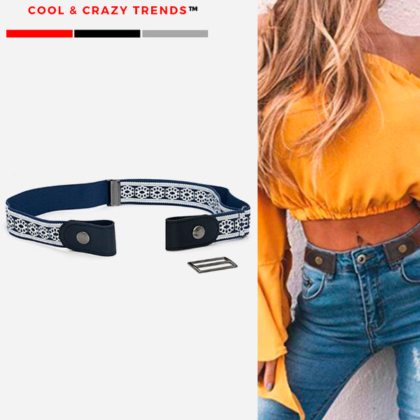 Buckle-free Elastic Easy wear Belt