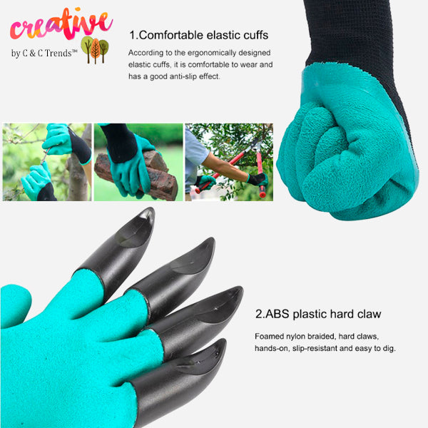 Claw Gloves for Quick and Easy Gardening 6