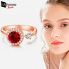 Cool Crystal Adjustable Dancing Ring 1a