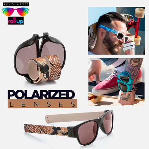 Cool Roll-Up Sunglasses