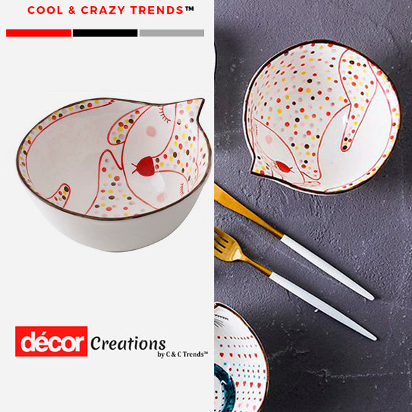 Cool Cartoon Porcelain Tableware