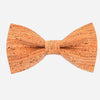 Cool Cork Wood Bow Tie