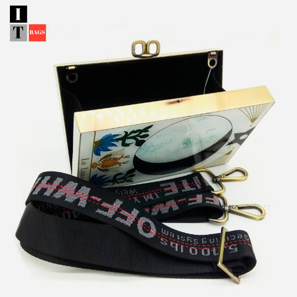 Cool Fashion Tarot Acrylic Clutch bag