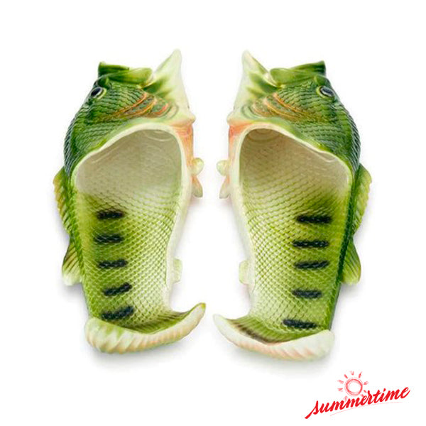 Cool & Funny Fish Slippers