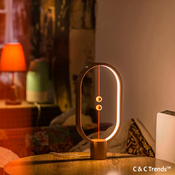 Cool Lamp with Magnetic Mid-air Switch