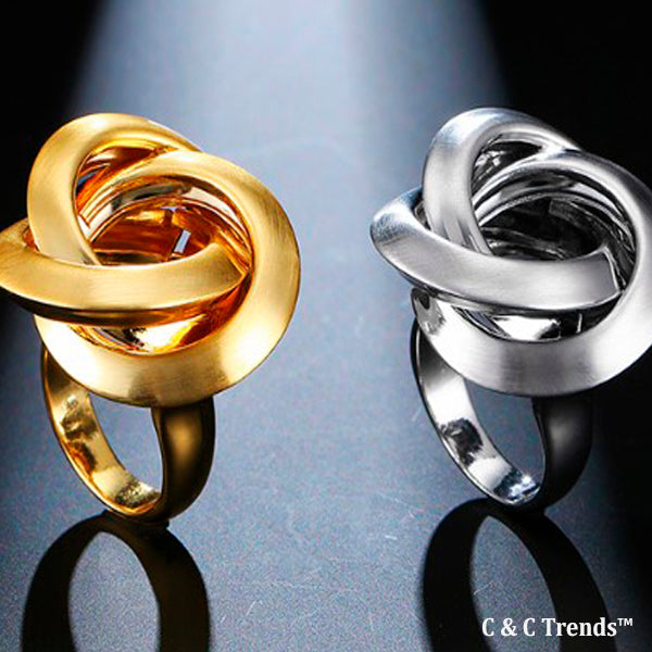Cool Twister Design Ring