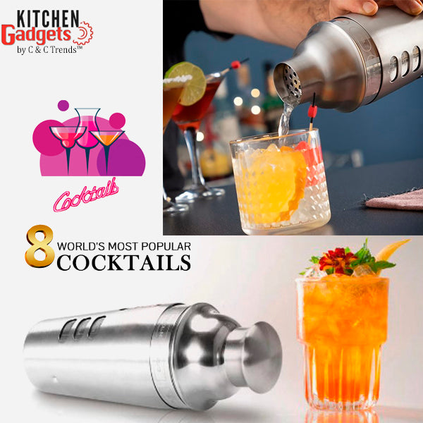 Cool Cocktail Shaker of the 8 Most Famous Cocktails 5