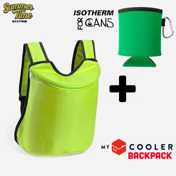 Cooler set (backpack + cover for cans) 3