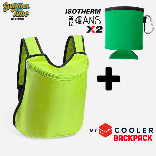 Cooler set (backpack + cover for cans) 8