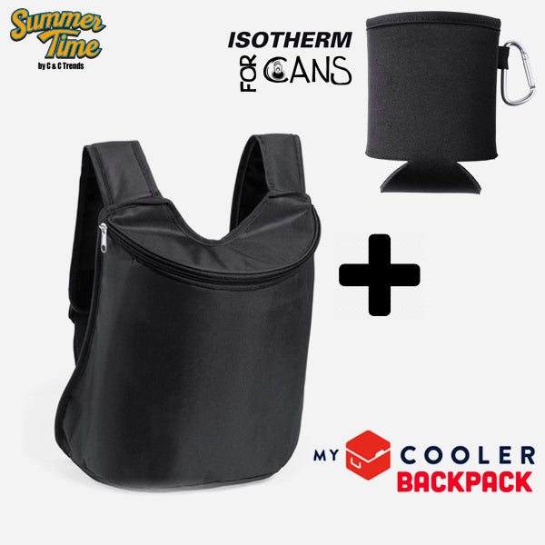 Cooler set (backpack + cover for cans) 4